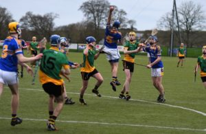 Paddy Buggy Cup Semi-final St. Mary's CBGS Belfast 3-15 Naas C.B.S 1-17e