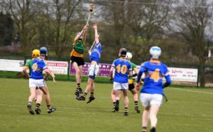 Paddy Buggy Cup Semi-final St. Mary's CBGS Belfast 3-15 Naas C.B.S 1-17h